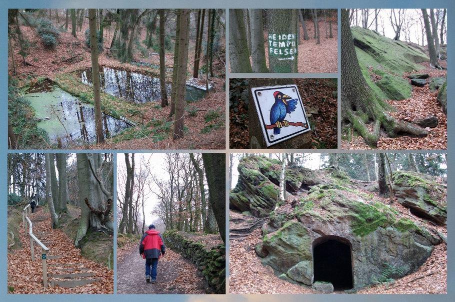 Tecklenburger Hexenpfad: Roelants Grab - Heidentempel
