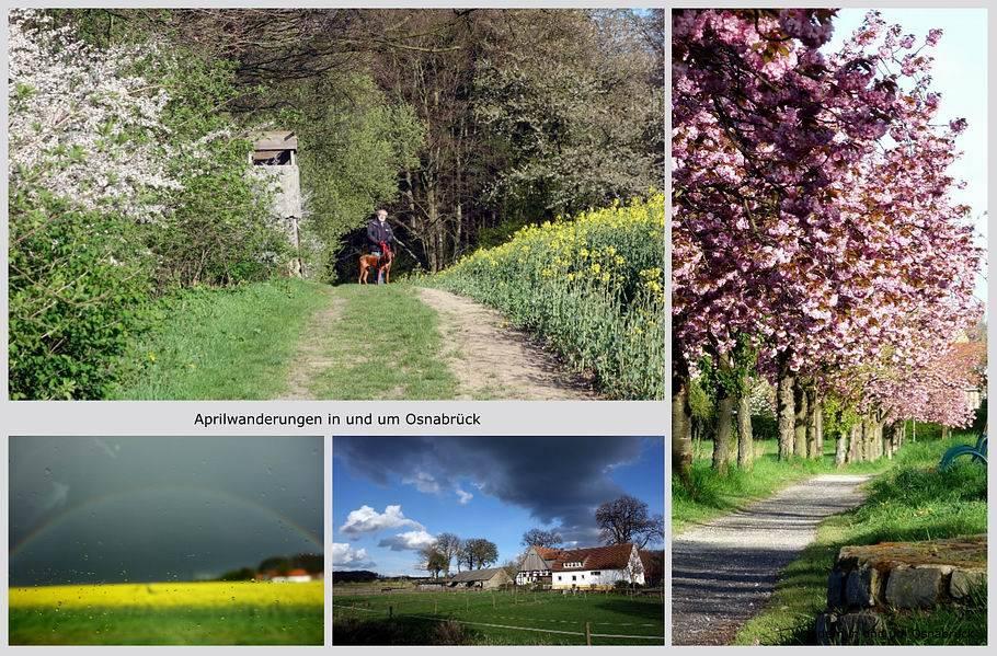 Wandern im April