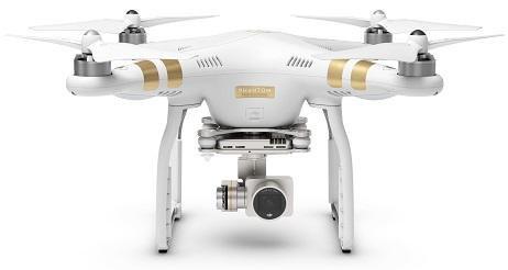 DJI Phantom 3 professional - Drohne mieten bei Red Medientechnik