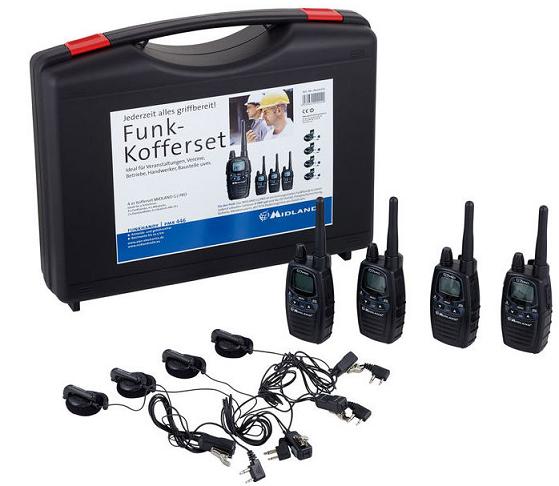 Sprechfunk Set mieten - Red Medientechnik
