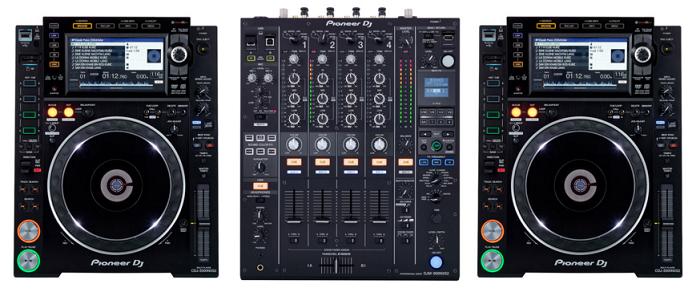 Pioneer DJM 900 NXS2 + CDJ-2000 NXS2
