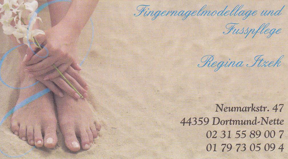 Fingernagelmodellage und Fußpflege Regina Itzek