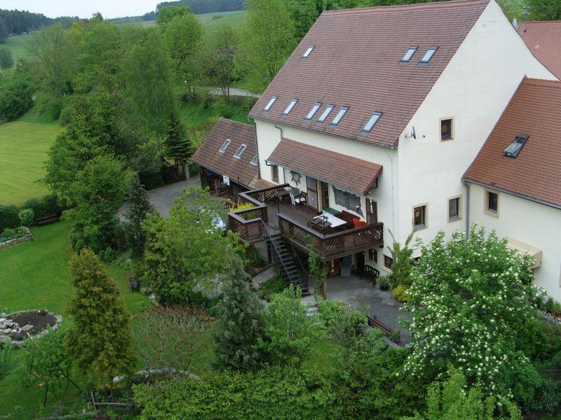 Der Künstlerhof Wyand mitten in der Natur