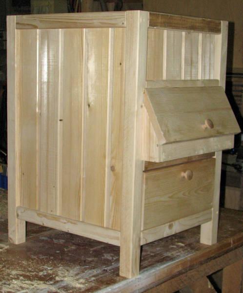 Maatwerkmeubelen van hout - Kast voor het opslaan van boeken ...