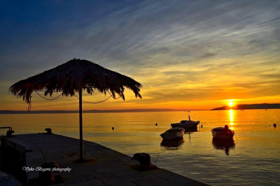 shoreline impression from Makarska