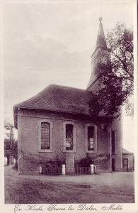 Ansichtskarte Kirche Gruna