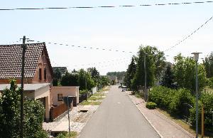 Dorfstraße Gruna
