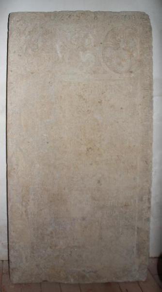 Grabplatte Dietrich Spiegel Gruna