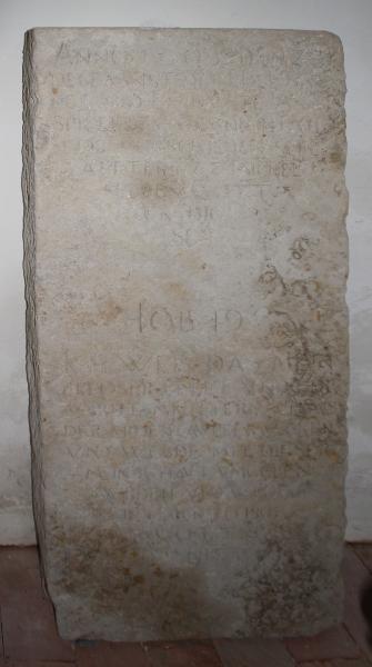 Grabplatte Asmus Spiegel Gruna