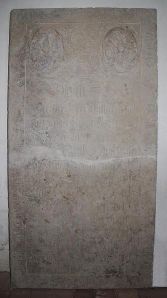 Grabplatte Erasmus Spiegel Gruna