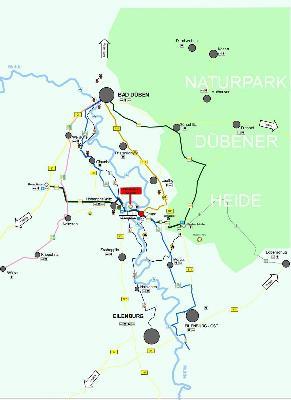 Rad und Wanderwege Bad Düben Eilenburg