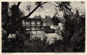 Ansichtskarte Schiffmühle Gruna