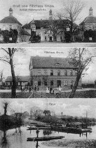 Ansichtskarte Gruna Hohenprießnitz