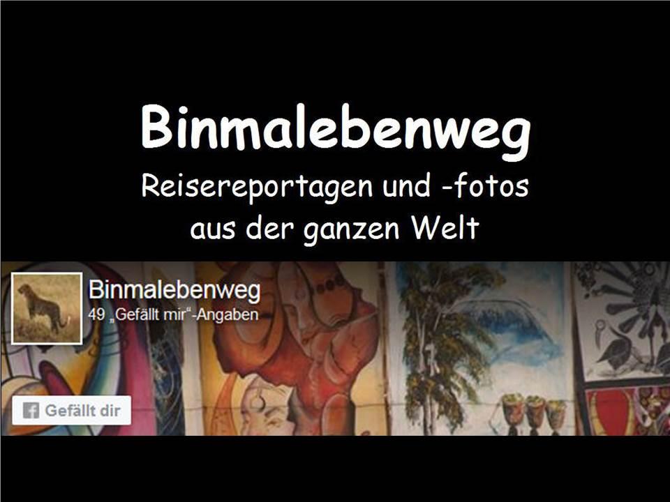 Neue Homepage www.binmalebenweg.de