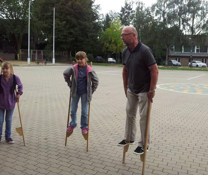Pausenspiele bei der Chorprobe vom 15.09.2012