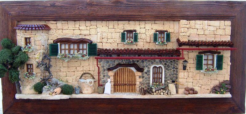 Mallorquinische Hausfassaden
