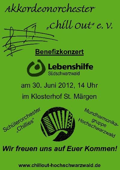 Benefizkonzert 2012