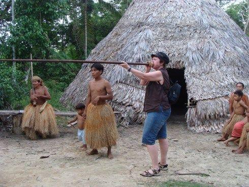 Martina Ager Aufenthalt in Peru