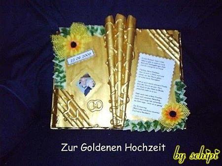 Geldgeschenke Zur Goldenen Hochzeit Basteln