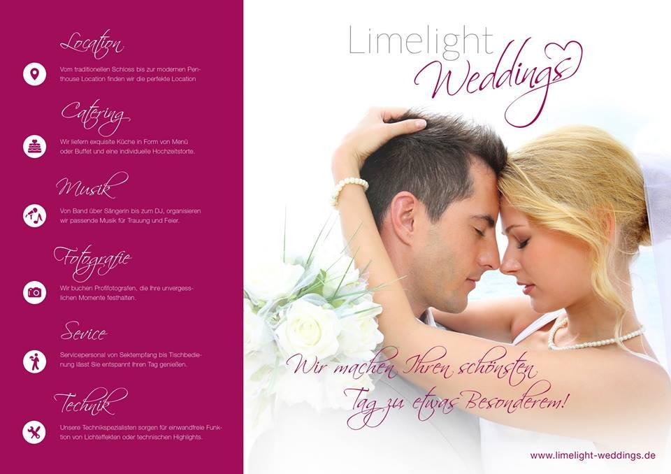 Limelight Wedding Hochzeitsplaner aus Duisburg Düsseldorf