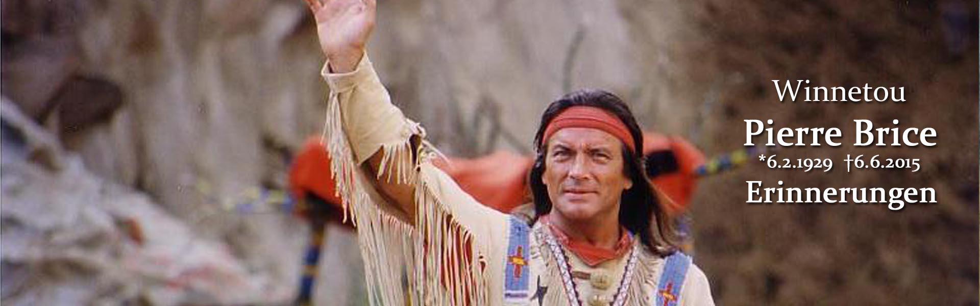 Pierre Brice-als Winnetou wurde er zur Legende