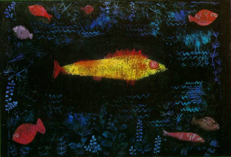 Paul Klee - Der Goldfisch