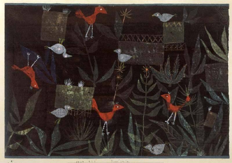 Paul Klee - Vögel