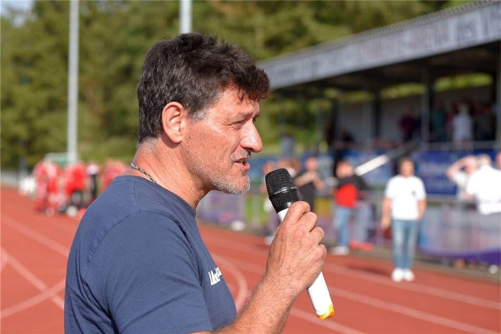 Jürgen Rump ist seit etwa anderthalb Jahren der Präsident des VfB Westhofen.