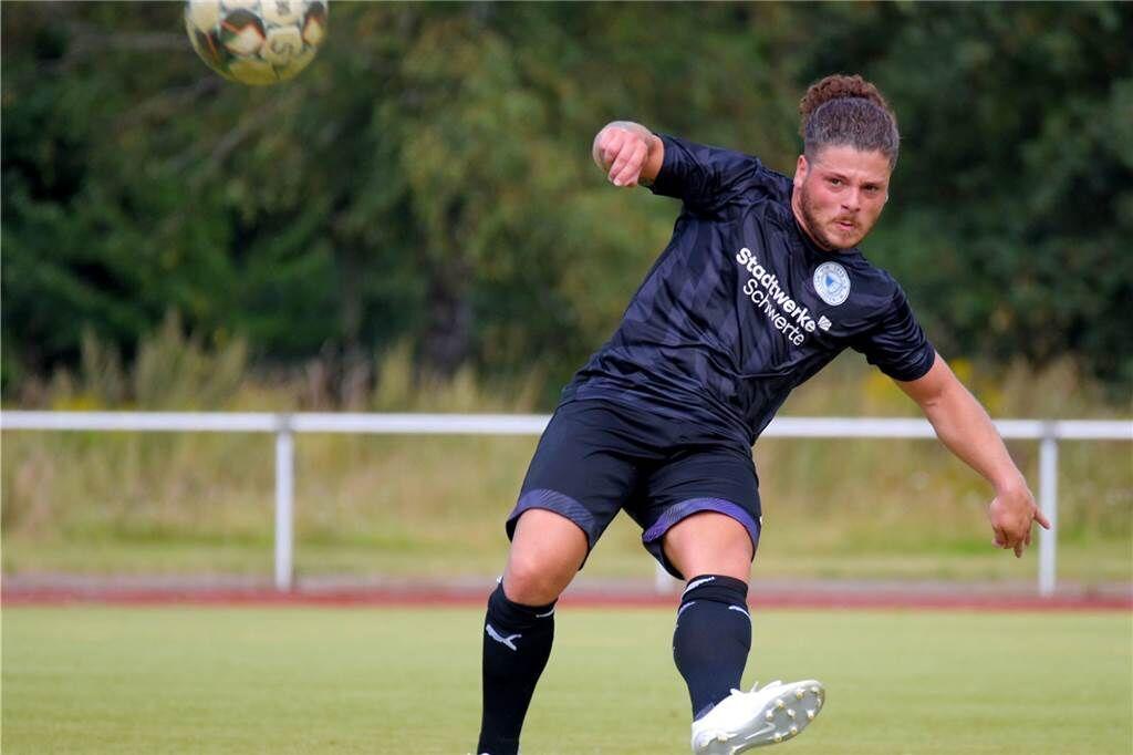 Domenico Restieri ist einer der Leistungsträger beim VfB Westhofen.