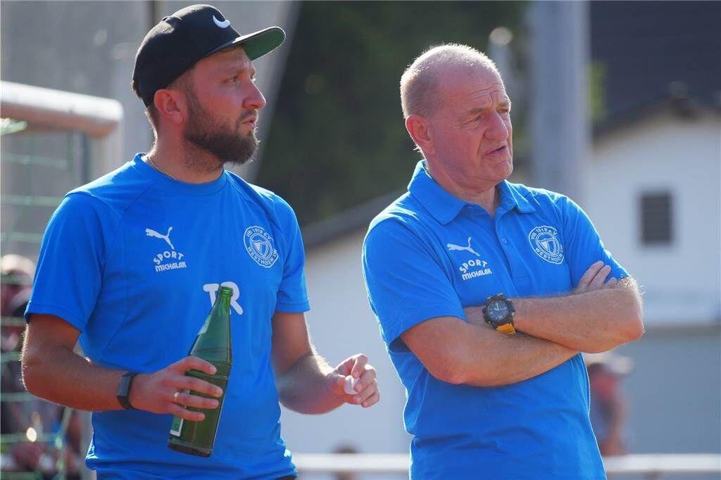 Erfolgreiches Trainer-Gespann: Lothar Huber und Christoph Pajdzik (l.)
