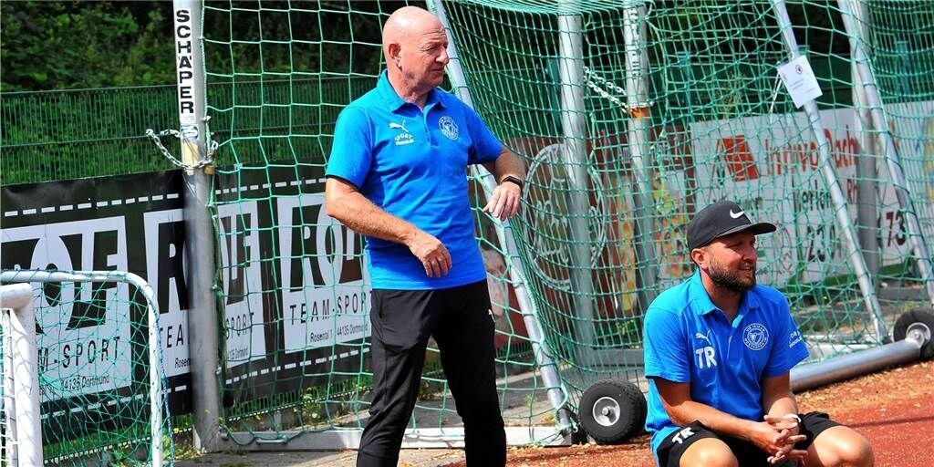 """Lothar Huber lässt die Muskeln spielen: """"Andere müssen erstmal versuchen, uns zu schlagen"""""""