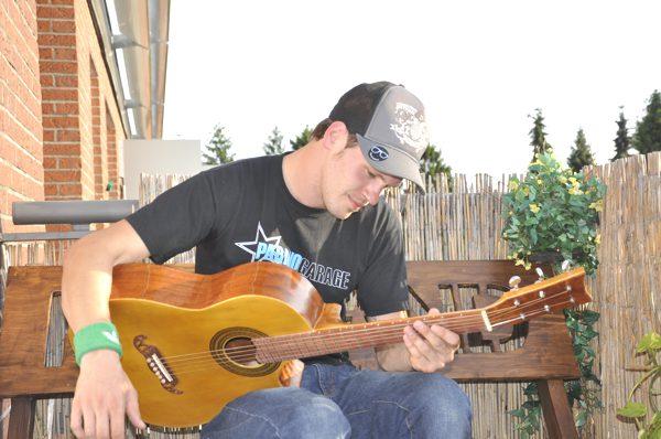 allein machen sie dich ein gitarre