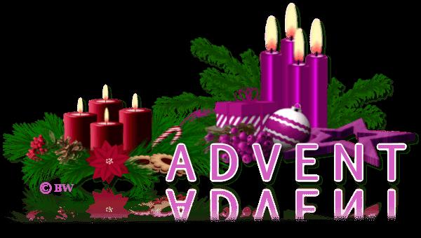Advent, Adventszeit, Weihnachten, 1. Advent, 2. Advent, 3. Advent, 4. Advent, Vorweihnachtszeit, Grafik, Clipart, Gif, kostenlos, gratis Download, mit Paint.net erstellt