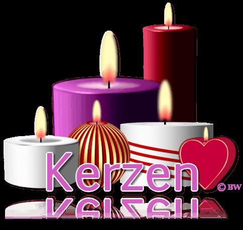 Kerze, Kerzen, Geburtstag, Weihnachten, Grafik, Clipart, Gif, mit Paint.net erstellt, kostenlos, gratis Download
