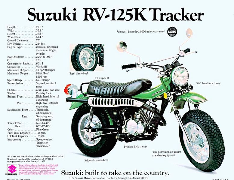 Suzuki Ts  Tire Size