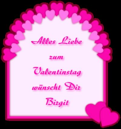 Gästebuchbild Valentinstag, aus Rahmen GB Bild erstellen