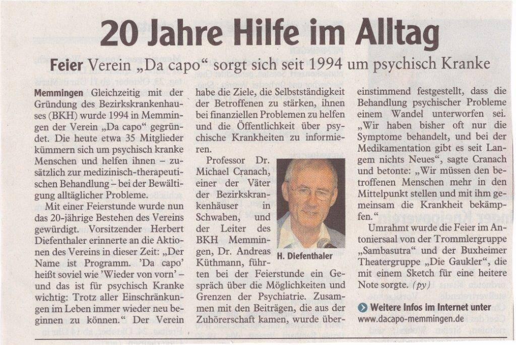 Memminger Zeitung 23.10.2014