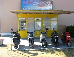Motorroller, Fahrräder, Boote Vermietung Vlado Ozi Ferienhäuser und Ferienwohnungen Insel Murter Dalmatien Kroatien