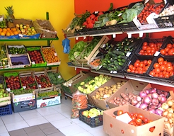 Obst- und Gemüsemarkt Matilde Ozi Ferienhäuser und Ferienwohnungen Insel Murter Dalmatien Kroatien