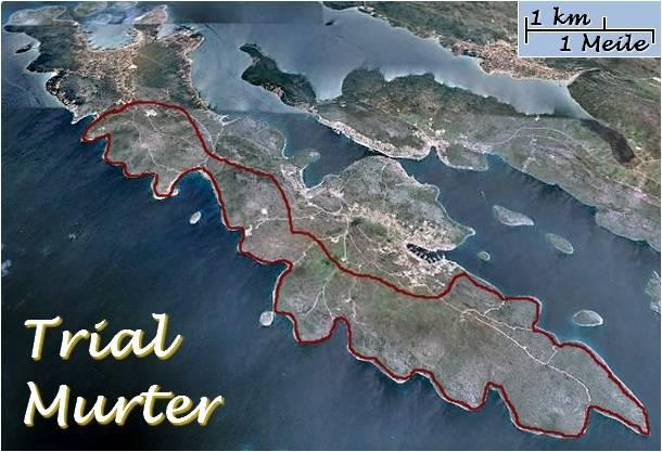 Trial-Sport-Fun OZI Ferienhäusern und Ferienwohnungen Insel Murter - Dalmatien - Kroatien