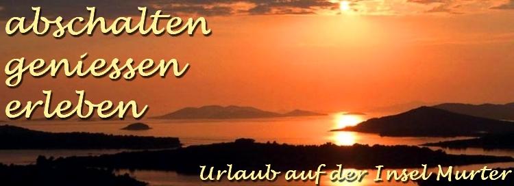 Sonnenuntergang Insel Murter Dalmatien Kroatien
