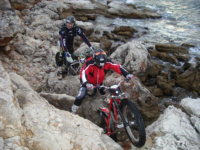 Motorrad Trial Training Insel Murter Dalmatien Kroatien