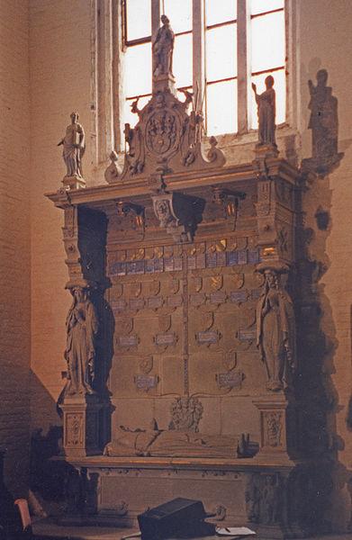 Bildhauer Frank Döhler, Epitaph der Klosterkirche Ribnitz-Damgarten