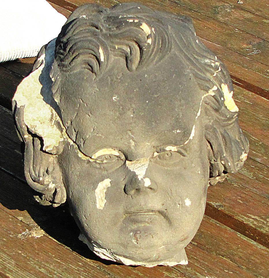 Puttenkopf vor der Restaurierung