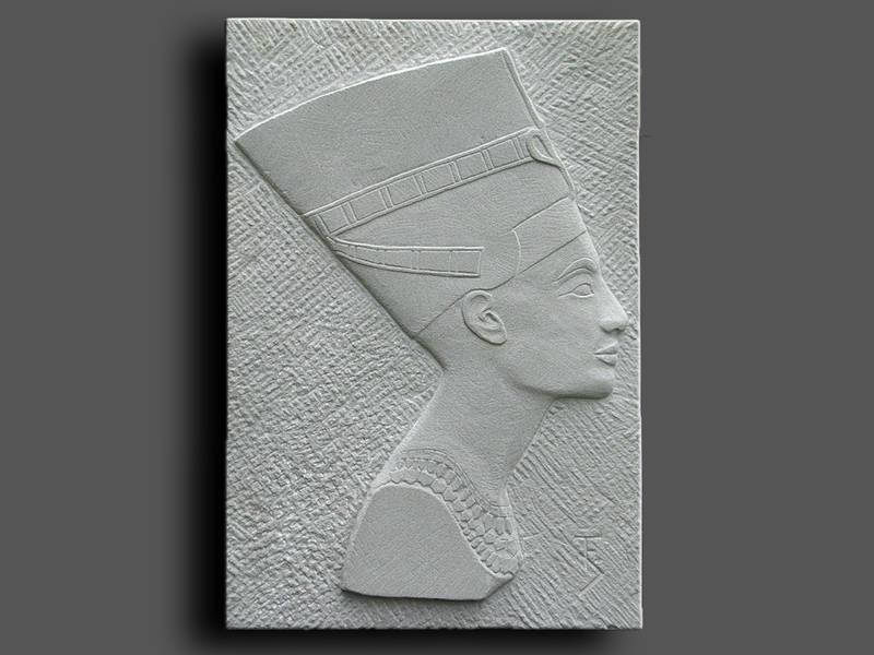 Relief Nofretete, Sandstein