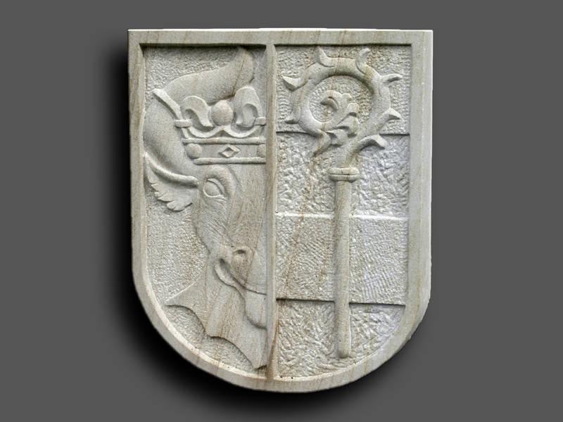 Wappen Nordwestmecklenburg, Sandstein