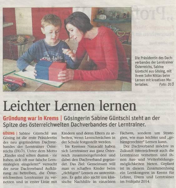 Dachverband Lerntrainer Österreich (DLÖ)