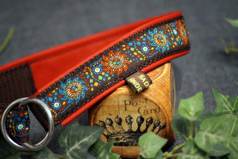 Halsband Zug-Stop Borte Sun Flower Multicolor