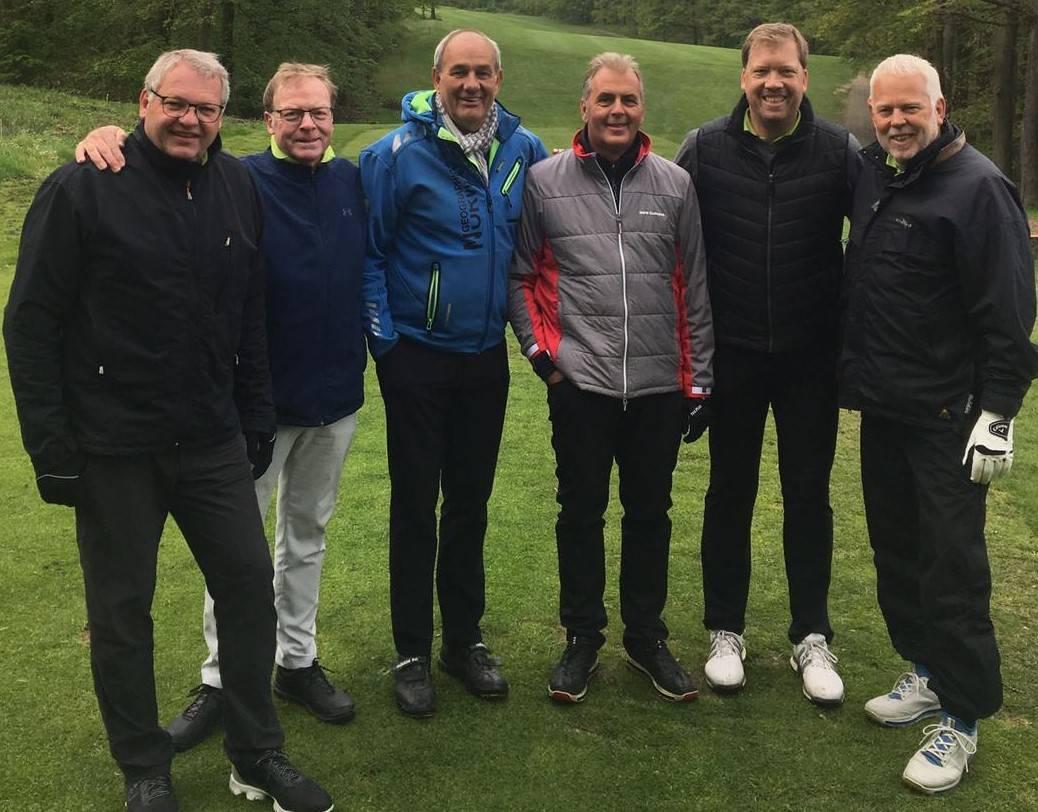 v.r. Axel Döring, Kieron Oates, Werner Anhut, Frank Bohnen, Jörg Paul, Holger Schulz