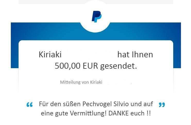 Spende von Kiki